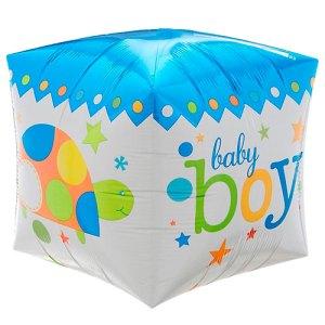 Cubez ballon Baby Boy bestellen of bezorgen online