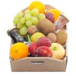 Fruitkistje met seizoensfruit en sap bestellen of bezorgen online