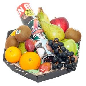 Fruitmand met tijdschrift bestellen of bezorgen online