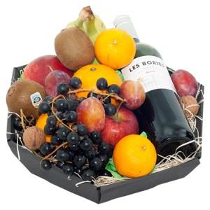 Fruitmand rode wijn bestellen of bezorgen online