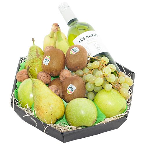 Fruitmand witte wijn bestellen of bezorgen online