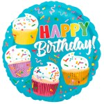Happy Birthday Cupcake fun bestellen of bezorgen online