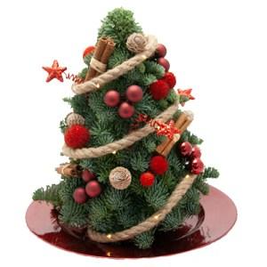 Kerstboom rood bestellen of bezorgen online