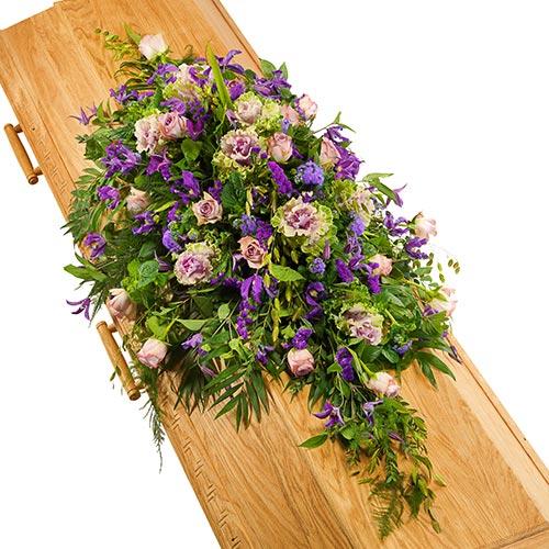Kistversiering lila-paars bestellen of bezorgen online