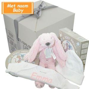 Kraamcadeau Richie pink bestellen of bezorgen online