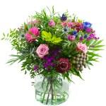 Lila/paars voorjaarsboeket bestellen of bezorgen online
