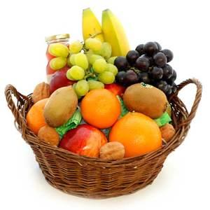 Mandje fruit 25cm bestellen of bezorgen online