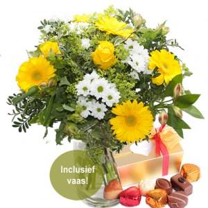 Moederdag Love Yellow bestellen of bezorgen online