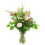Palet boeket roze bestellen of bezorgen online