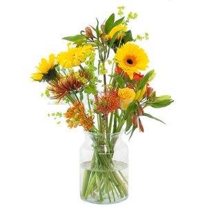 Plukboeket oranje-geel bestellen of bezorgen online