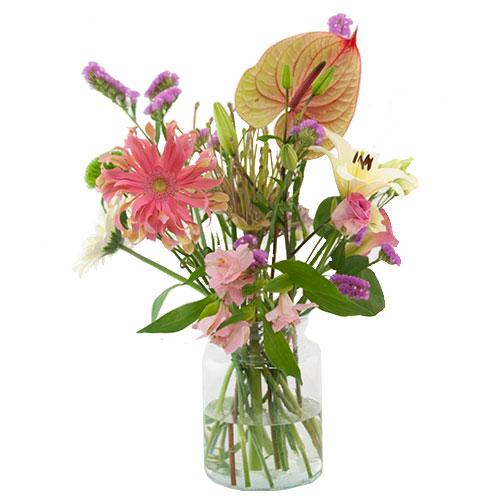 Plukboeket roze bestellen of bezorgen online