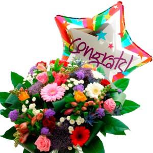 Plus Boeket congrats ballon bestellen of bezorgen online