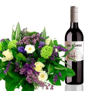 Plus Boeket fles wijn bestellen of bezorgen online