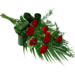 Rouwboeket rode rozen bestellen of bezorgen online
