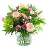 Roze voorjaarsboeket bestellen of bezorgen online