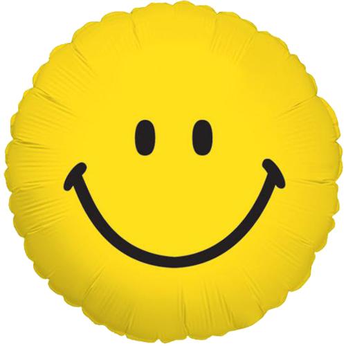 Smiley heliumballon bestellen of bezorgen online