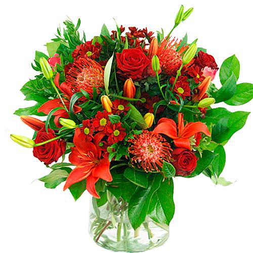 Valentijn boeket rood bestellen of bezorgen online