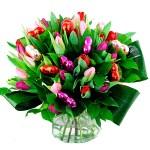 Valentijn boeket tulpen bestellen of bezorgen online