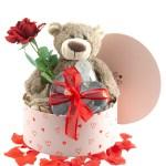 Valentijnsdag cadeau beer Bella met chocolade bestellen of bezorgen online