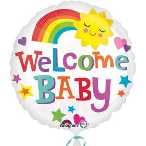 Welcome Baby Bright Bold bestellen of bezorgen online