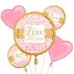 ballon boeket love bestellen of bezorgen online