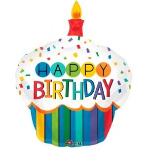 happy birthday cupcake jumbo bestellen of bezorgen online