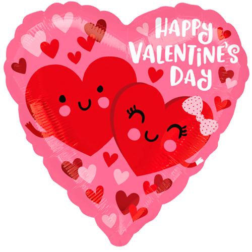 happy valentine's day hearts bestellen of bezorgen online