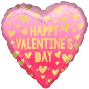 happy valentine's day roze ombré bestellen of bezorgen online