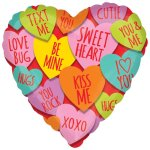 Hearts with message heliumballon bestellen of bezorgen online