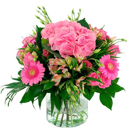 Zomerboeket roze bestellen of bezorgen online