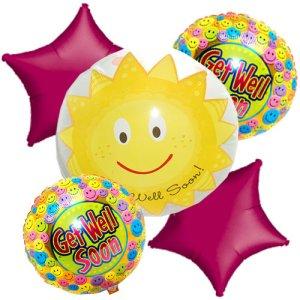 beterschap ballon boeket bestellen of bezorgen online