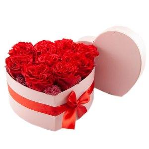 hart met lulu rozen bestellen of bezorgen online