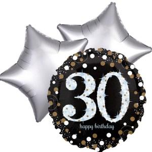 Ballonboeket 30ste verjaardag bestellen of bezorgen online