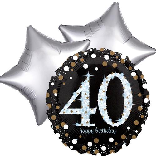 Ballonboeket 40ste verjaardag bestellen of bezorgen online