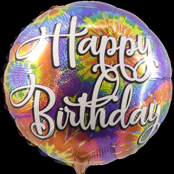 Happy birthday party ballon bestellen of bezorgen