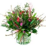 Pastel tulpen met voorjaarstakken (NIET LEVERBAAR IN VERBAND MET SEIZOEN) bestellen of bezorgen online