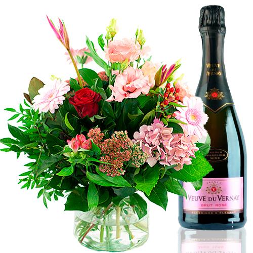 Plus Boeket Bubbels rosé bestellen of bezorgen online