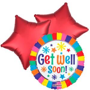 Ballonboeket Get well soon! bestellen of bezorgen online