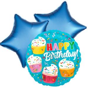 Ballonboeket cupcake fun bestellen of bezorgen online