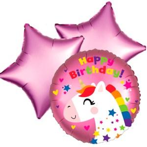 Ballonboeket unicorn birthday bestellen of bezorgen online