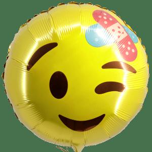 Smiley ballon pleister bestellen of bezorgen