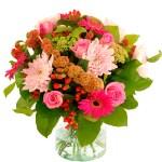 Najaarsboeket roze bestellen of bezorgen online