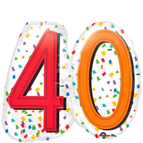SuperShape Rainbow Birthday 40 bestellen of bezorgen online