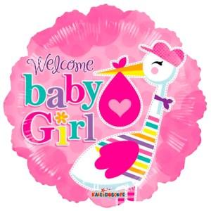 Baby stork girl bestellen of bezorgen online