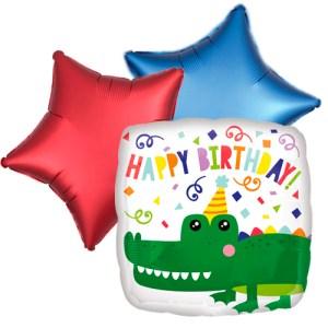 Ballonboeket gator happy birthday bestellen of bezorgen online