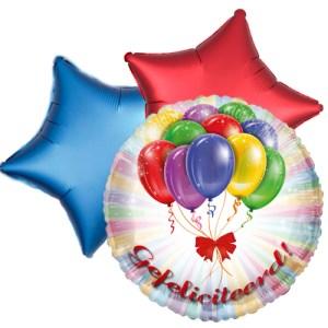 Ballonboeket gefeliciteerd bestellen of bezorgen online