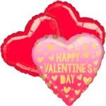 Ballonboeket valentine's day roze ombré bestellen of bezorgen online