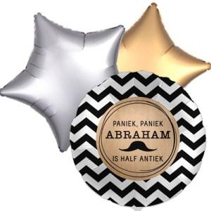 Ballonboeket abraham bestellen of bezorgen online