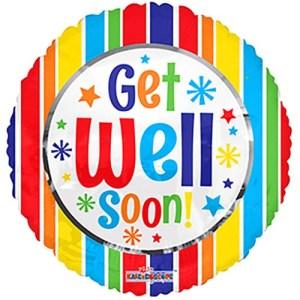 Get well Soon! stripes bestellen of bezorgen online