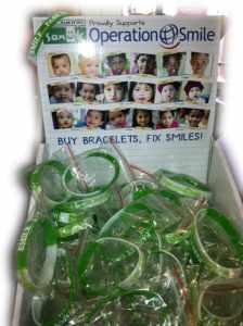 Operation Smile Bracelets from Sanuk